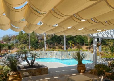 Slide On Wire Retractable Awnings Custom Made The