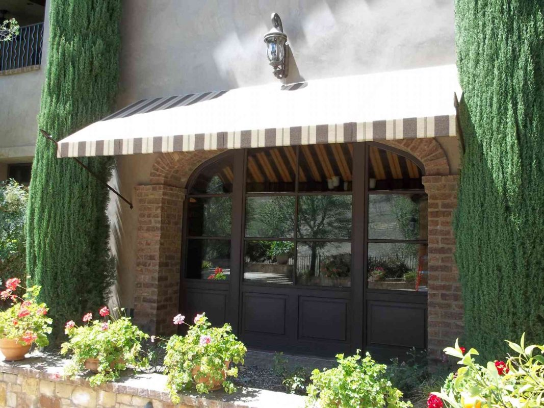 Decorative Awnings - Sunbrella Fabrics - The Awning Company