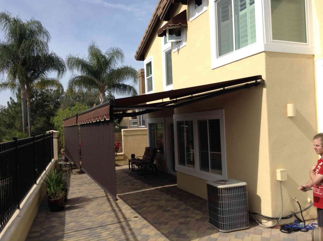 Retractable Patio Awnings - Orange County - The Awning Company